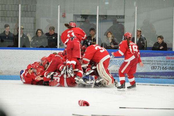 Hockey Snapshot: USA Champion Belle Tire Girls 16U Coach Mike Vigilante
